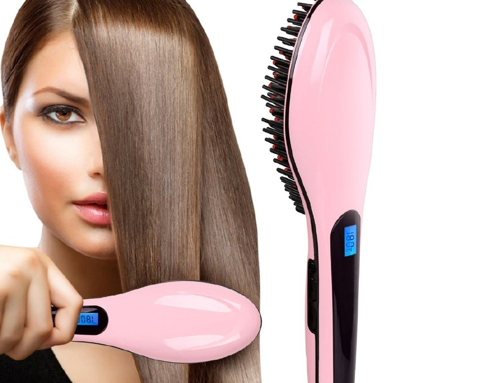 Fast Hair Straightener Brush Price in Pakistan