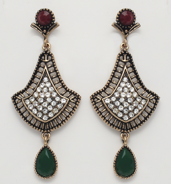 Antique Earrings Jewellary (PS-51) Price in Pakistan