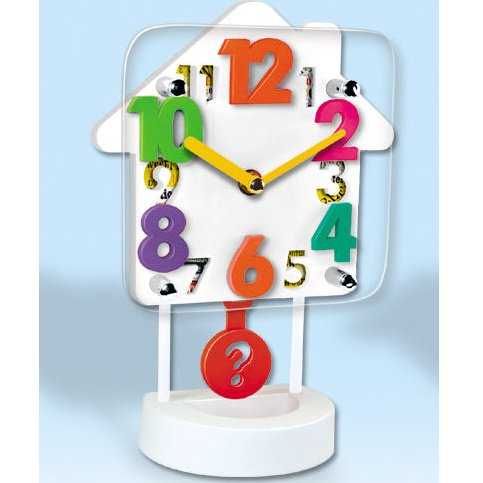 House Shaped 3D Table Clock (TC-03)