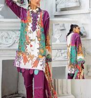 Eid Summer Embroidery Lawn Collection 2020 With Embroidery Trouser UnStitched (DRL-587) Price in Pakistan