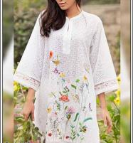 Chikankari Lawn Heavy Embroidered 2 PCS Suit 2020 (DRL-485) (Unstitched) Price in Pakistan