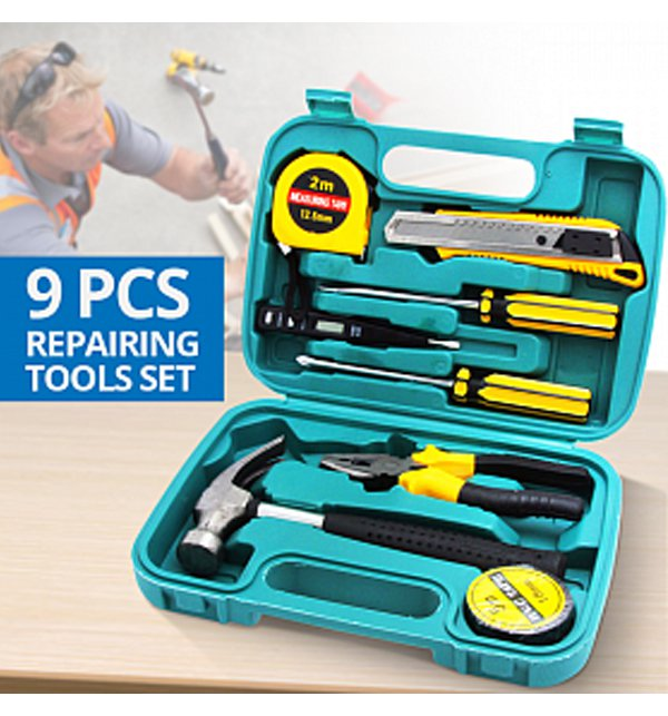 9 Pcs Repairing Tools Set Price in Pakistan
