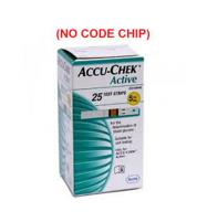 Accu-Chek Active - 50 Test Strips (NO CODE CHIP) Price in Pakistan