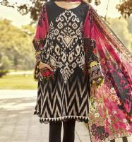 Linen Embroidered Dress with Linen Dupatta  Unstitched -  (LN-126) Price in Pakistan