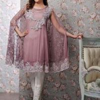 Butterfly Style Embroidered Chiffon Dress (CHI-55) Price in Pakistan