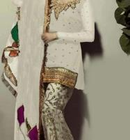 Chiffon Embroidered Suit With Chiffon Embroidered Dupatta  (CHI-266) (Unstitched) Price in Pakistan