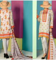Classic Lawn Collection 2019 With Lawn Dupatta (VS-107A) (Unstitched) Price in Pakistan