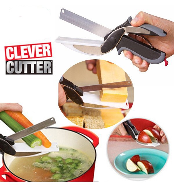 Clever Cutter 2 in 1 Knife & Cutting Board Price in Pakistan