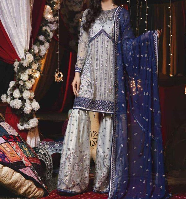 Designer Eid Chiffon Collection 2020 With Chiffon Dupatta (CHI-281) (Unstitched) Price in Pakistan