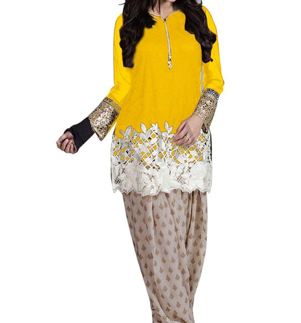 Designer Embroidered Lawn 2 Pec Suit Embroidered Shirt & Trouser (DRL-395) Price in Pakistan