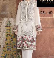 Designer Embroidery Lawn Dress With Lawn Duppata (Unsitched) (DRL-465) Price in Pakistan