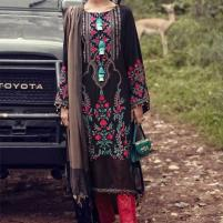 Designer Khadder 2019 Unstitched Embroidered 3Pc Suit - (KD-98) Price in Pakistan