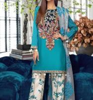 Designer Lawn Emboidery Suit With Chiffon Printed Duppata (DRL-480) (Unstitched) Price in Pakistan