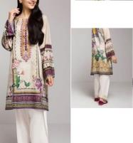 Designer Linen Embroidered Dress with Linen Dupatta  Unstitched -  (LN-128) Price in Pakistan