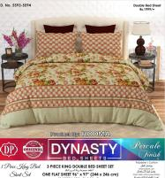 Dynasty King Size Double Bed Sheet (DBS-5593)	 Price in Pakistan