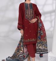 Eid Embroidered Lawn Collection 2020 With Lawn Duppata (Unstitched) (DRL-547) Price in Pakistan