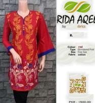Kurti Stitched Full Front Embroidery (RA-1023) Price in Pakistan
