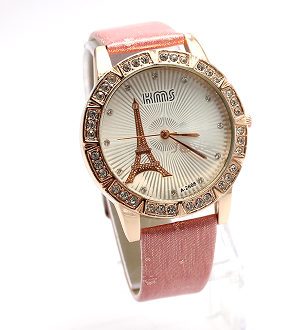 Eiffel Tower Analogue Watches For Women (CW-75) Price in Pakistan