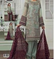Embroidered Chiffon Dress Unstitched (CHI-123) Price in Pakistan