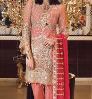 Embroidered Chiffon Unstitched 3 Piece Suit With Chiffon Dupatta - (CHI-311) Price in Pakistan