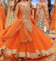 Embroidered Frock Dress Unstitched (CHI-93) Price in Pakistan