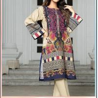 Embroidered Lawn Dress 2020 with LAWN Dupatta (DRL-448) (Unstitched) Price in Pakistan