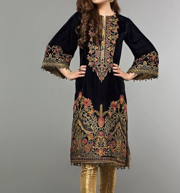 Embroidered LAWN Suit with Chiffon Dupatta (DRL-310) - UNSTITCHED FABRIC Price in Pakistan