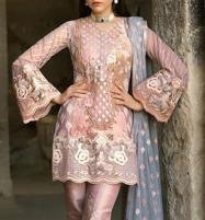 Embroidered Masoori Dress With Chiffon Embridery Dupatta (Unstitched) (CHI-210) Price in Pakistan
