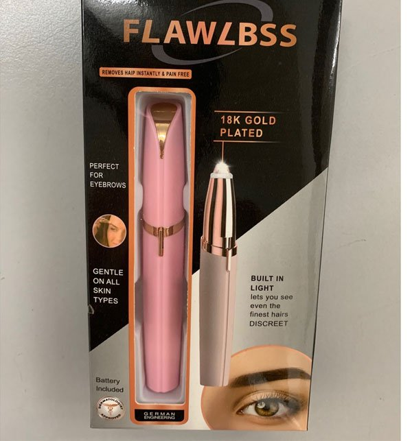 Flawlessly Brows Eyebrow Trimmer Electric Hair Remover Painless Shaver Painless Personal Face Care Instant Hair Remover Tool Price in Pakistan