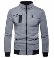 Grey Zipper Jacket For Men (ONLY XL SIZE AVAILABLAE) Price in Pakistan