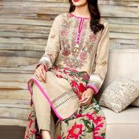 New Heavy Embroidered Khaddar Dress 2019/2020 with Wool Shawl Dupatta  (KD-92) (UnStitched) Price in Pakistan