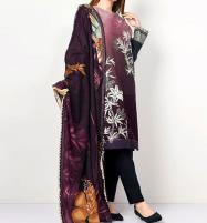 HIt Design 2020 Embroidered Lawn Suit with Lawn Dupatta  (DRL-618) Price in Pakistan