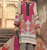 Khaddar Embroidered Suit with Wool Shawl Dupatta (Unstitched) (KD-57) Price in Pakistan