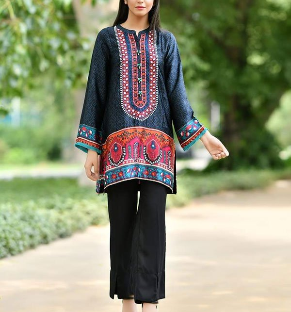 Khaddar Embroidery Suit 2019 2020 with Wool Shawl (Unstitched) (KD-46) Price in Pakistan