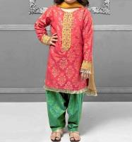 Kids 2-Pcs Embroidered Lawn Dress 2020 UnStitched (DK-112) Price in Pakistan