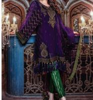 Latest Embroidered Lawn Suits with Lawn Dupatta (DRL-455) (Unstitched) Price in Pakistan