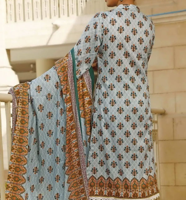 VS Classic Printed Lawn Suit With Lawn Dupatta 20-116A Price in Pakistan