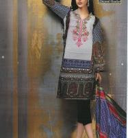Lawn Embroidered Dress With Lawn Dupatta (DRL-369) (Unstitched) Price in Pakistan