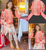 Lawn Embroidery Dress 2020 UnStitched (DRL-451) (Unstitched) Price in Pakistan