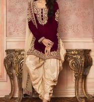 Linen Heavy Full Embroidery Dress With Net  Duppata UnStitched (LN-125) Price in Pakistan