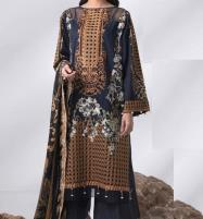 Heavy Embroidered Lawn Dress LAWN Dupatta UnStitched (DRL-575) Price in Pakistan