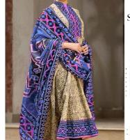 Embroidered Linen Dress with Linen Dupatta  Unstitched -  (LN-127) Price in Pakistan