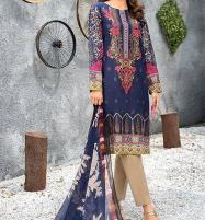 Twill-Linen Embroidered Suit Wool Shawl Unstitched (LN-105) Price in Pakistan