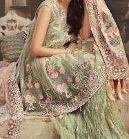 Net Embroidery Suit With Net Embroidery Duppata (CHI-213) (Unstitched) Price in Pakistan