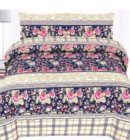 NEW ARRIVAL King Size PC Polyester Cotton Bed Sheet (PC3D-43) Price in Pakistan