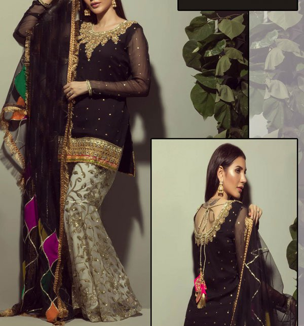 Embroidered Chiffon Suit Embroidery Trouser UnStitched (CHI-198) Price in Pakistan
