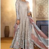 New Heavy Net Bridal Collection 2020 Unstitched - (CHI-340) Price in Pakistan