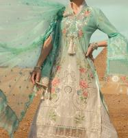 Luxery Fully Heavy Embroidered Schifflie Cut Work UnStitched (DRL-598) Price in Pakistan