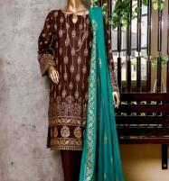 New Block Printed Banarsi Lawn Collection 2020 With Lawn Dupatta (MBP-11) (Unstitched) Price in Pakistan