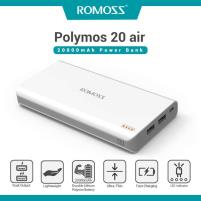 Original ROMOSS Polymos 20 Dual USB 20000mAh Price in Pakistan
